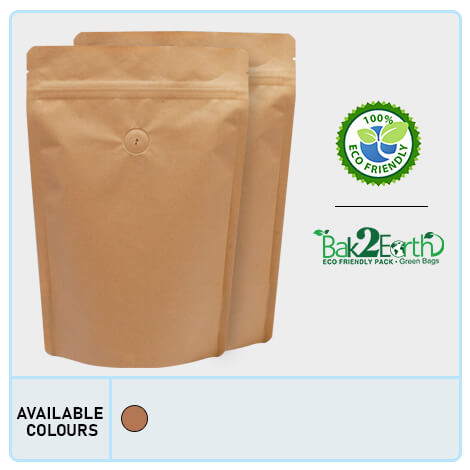 Eco-Friendly Pouches With Valve