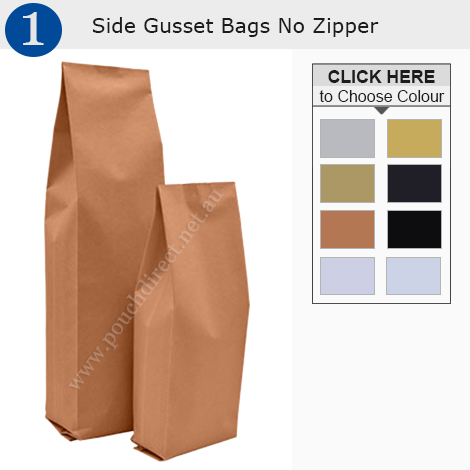 Side Gusset Bag No Zipper