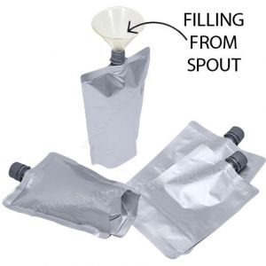 16mm Spout Pouches (Center Spout / Filling From Spout)