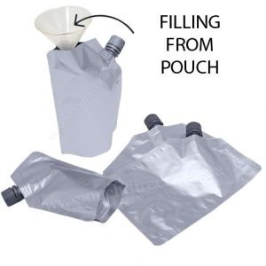16mm Spout Pouches (Corner Spout / Filling From Pouch)