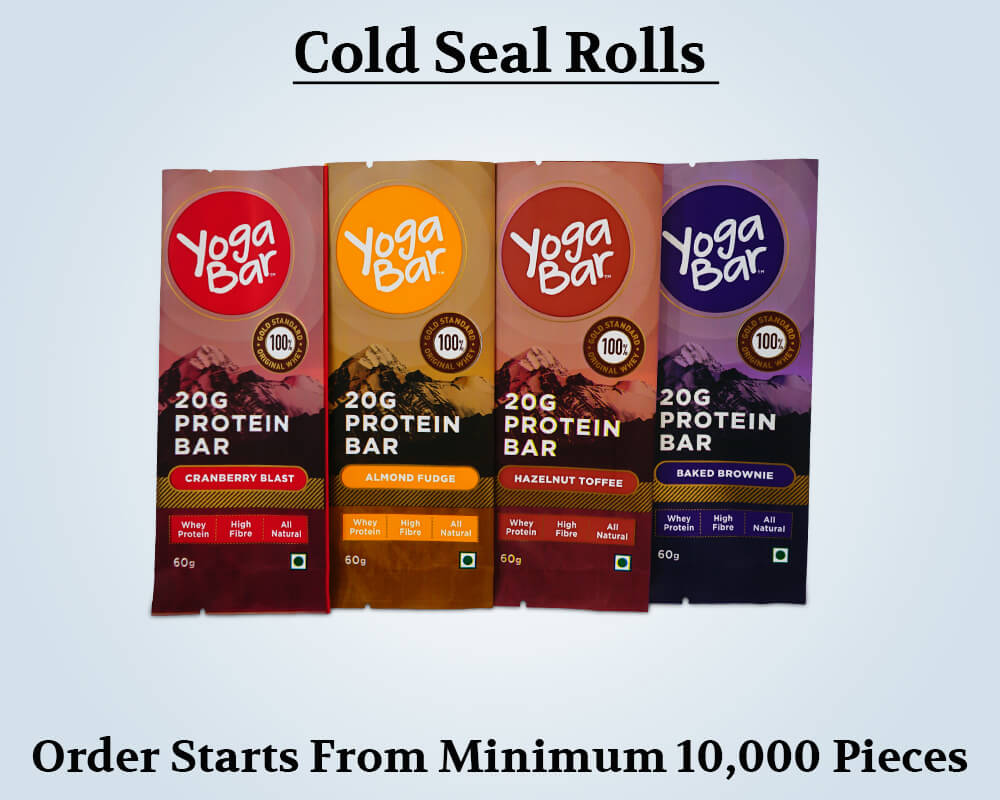 Custom Products Cold Seal Rolls