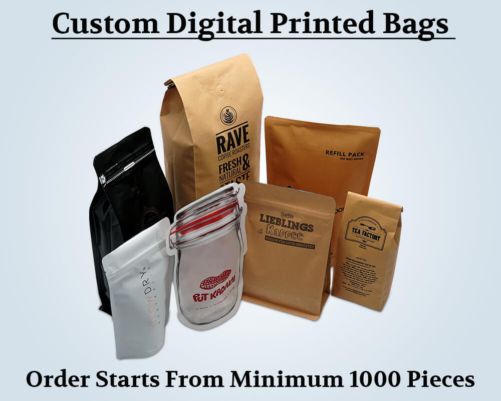 Custom Products Digital Printed Bags