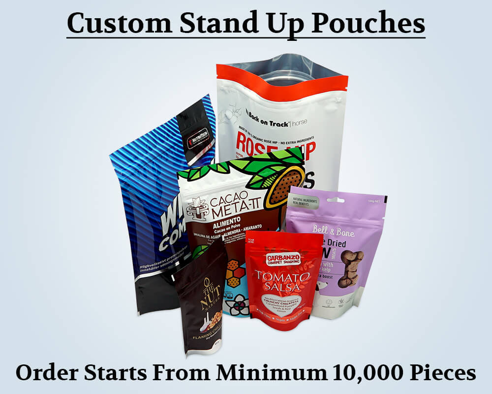 Custom Stand Up Pouches